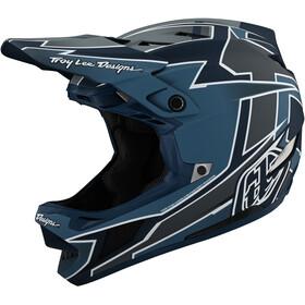 Troy Lee Designs D4 Composite Helmet graph marine